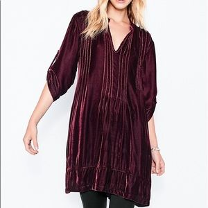 CP Shades Velvet Tunic Dress